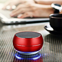 LED Mini Wireless Bluetooth Speaker MIC Bass Subwoofer For iPhone Samsung TF AUX