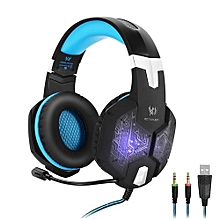Enjoy Gaming Headset Stereo Headphone With Microphone Mic Led light Game Headset For PC Computer