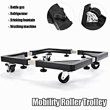 HEAVY APPLIANCE Wheels Mobility Roller Trolley Washing Machine Stand Fridge Base 255-355mm