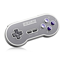 SN30 Wireless Bluetooth Gamepad With 2.4G NES Receiver-GRAY