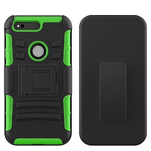 finest selection 6a086 5a96e Hard Hybrid Case Stand Cover Belt Clip Holster for Google Pixel XL 5.5 inch  GN