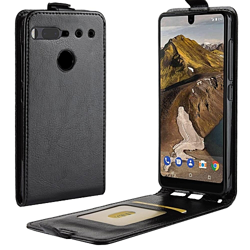 the best attitude 2574c 79fad PU Leather Flip Cover Case for Essential Phone PH-1