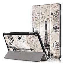 For Huawei 2017 M3 Lite 10.0 Case, Ultra Slim Case + PU Leather Smart Cover Stand Auto Sleep/Wake For Tablet Mediapad M3 Lite 10.1 Inch - Tower