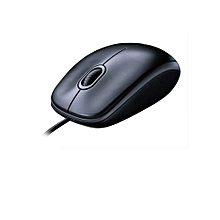 M100r Wired USB Mouse - Black