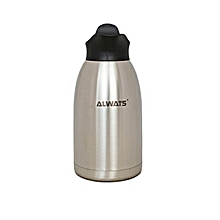 2.5L Vacuum Thermos - Stainless and black
