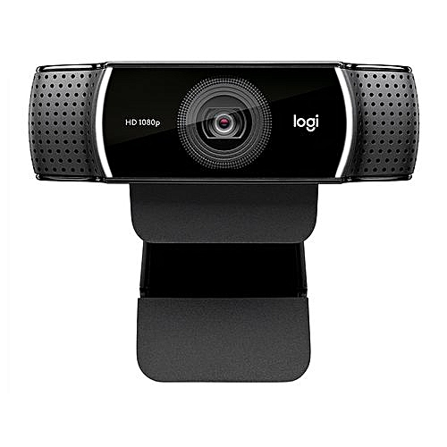 C922 Pro Stream Webcam 1080P Camera for HD Video Streaming & Recording