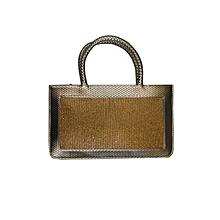 Diamond Infused Handbag - Gold