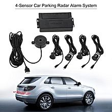 Car Auto 4-Sensor Parking Radar Kit Reverse Radar Alarm System