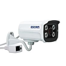 Escam Brick QD300 Dual Strem Lens HD 720P P2P H.264 Cloud IR IP Security Camera White US Plug