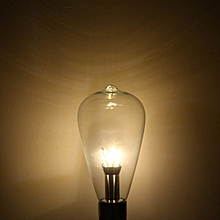 6W 580LM SMD 3014 12 LED Lights Nostalgic Filament Light Soft White Light - Warm White Light