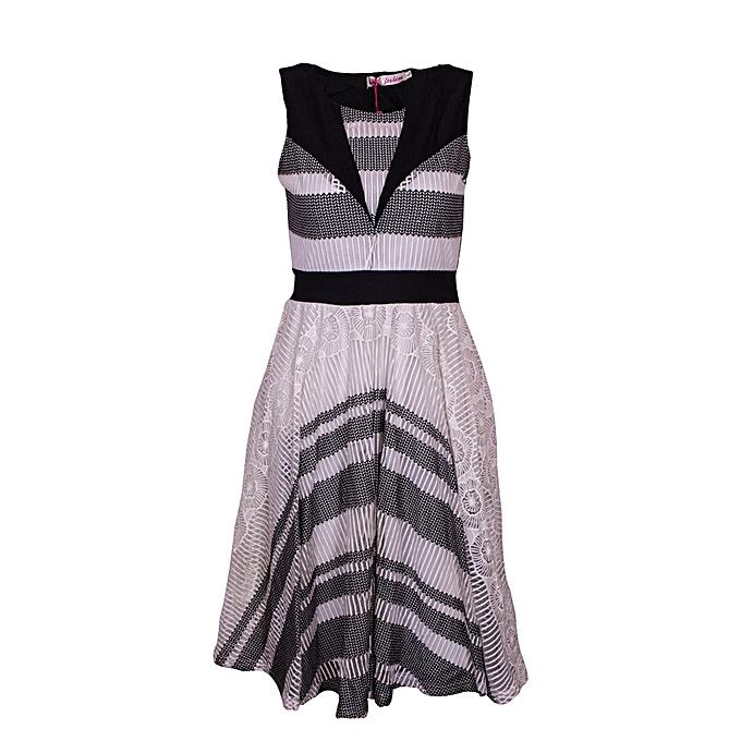 146eb4f08f61 Fashion Fashion women casual or party sleeveless dress-black @ Best ...