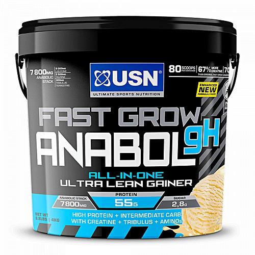 Fast Grow Anabolic - 4kg (8.8 lbs) - Vanilla