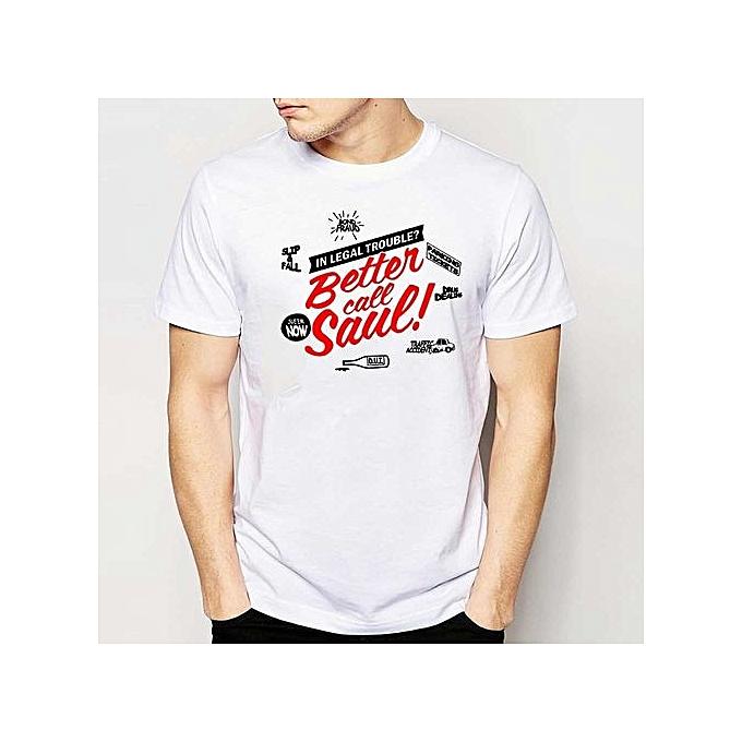 695b6efdf Hot Sale Popular Better Call Saul T Shirts Men New Man T Shirt O Neck Mens