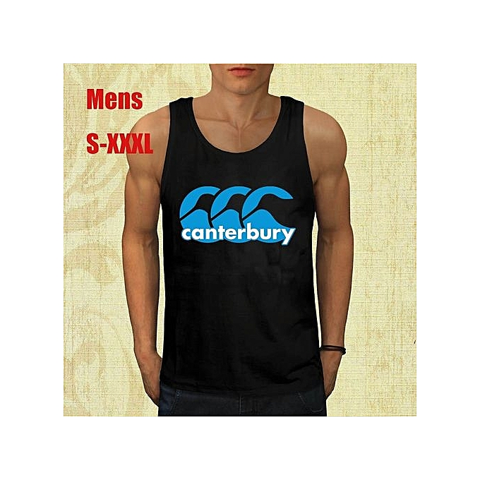 1d13ae194 Fashion Classics Canterbury Logo Mens T Shirt Cotton Printed Short Sleeves  Funny Graphic Mens Tank Top