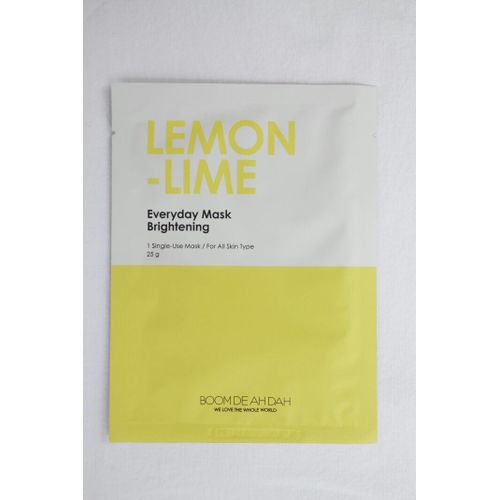 Lemon-Lime Everyday Mask Brightening