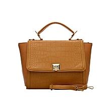 Camel Satchel Bag