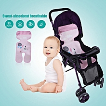 Baby Stroller Seat Cushiont Summer Plant Fiber Stroller Seat Infant Cushion Cover