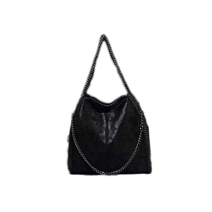 Women s Folding Shoulder Bag Chain Handbags Fashion PU Leather Bags 36508e51f