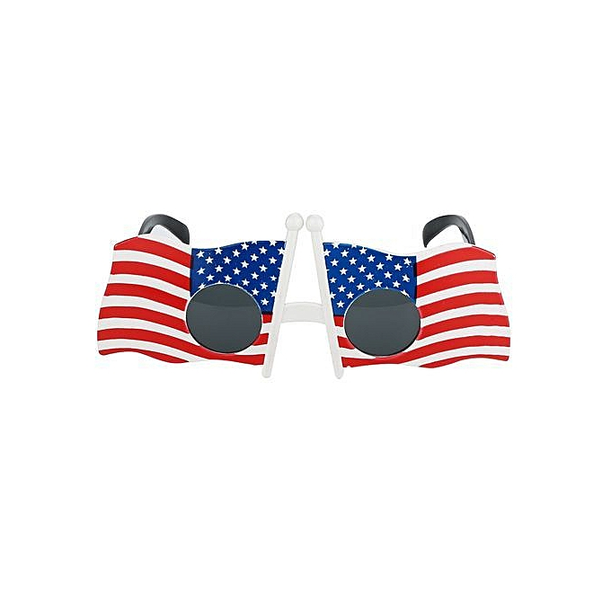43a1e53a24b7 ... Fashion Cool American Flag Sunglasses USA Patriotic Design For 4th Of July  Party Props