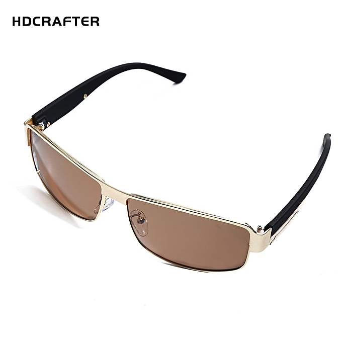3ab05fb42 Leadsmart HDCRAFTER Fashion Men Polarized Sunglasses Metal Frame Glasses  UV400