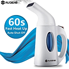 AUGIENB 700W 150ml Travel Clothes Steamer Ultra Fast Heat Up Powerful Wrinkle Remover Handheld Steam Iron 110-120v US Plug