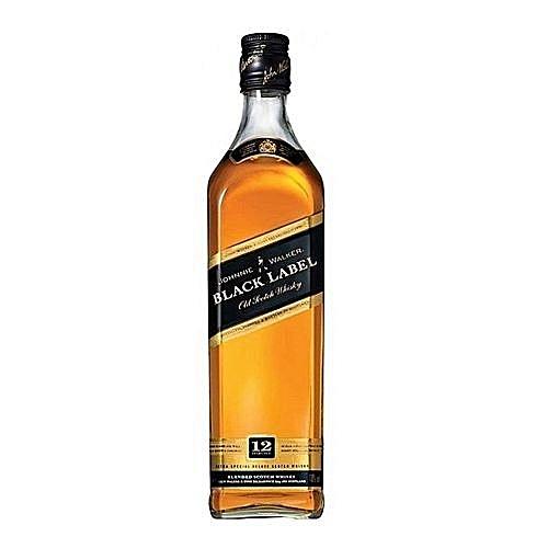 Black Label Price >> Johnnie Walker Black Label Premium Scotch Whisky 12 Years 750 Ml