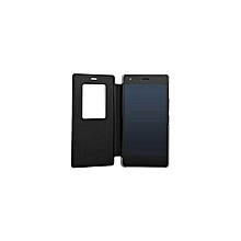 Single Window Tecno R7- Flip Cover - Black