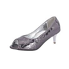 Grey Women's Office Shoes