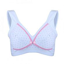 9dce56120c Cotton Nursing Breast Feeding Bras Prevent Sagging Pregnant Women  Underwear(Pink Heart XL)