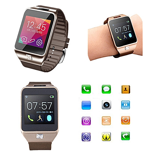 best service 5a291 b1299 Bluetooth Smart Touch Wrist Watch Sleep Monitor Remote Call For iPhone 6  Samsung