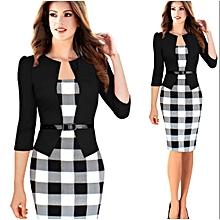 40b5036e8c New Women's Dresses Fashion Elegant Dress Length Slimming Stretch  Bodycon Pencil Dresses