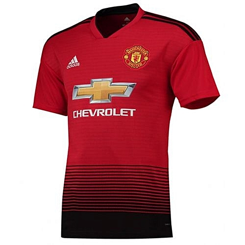 Generic Football Jerseys REPLICA Manchester United Home Kit Jersey 18 19. fe68b4dd2