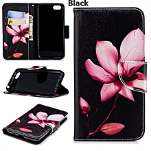 For Huawei Y5 2018 Cartoon Case Flower Butterfly Panda Wallet Leather Cover For Huawei Y5 Prime 2018 DRA-L22 DRA-L02 Phone Bag 5.45inch