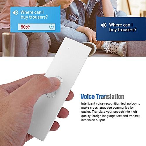 T6 Easy Trans Smart Language Translator Instant Voice Speech BT 28  Languages+APP Hot Translator traductor de voz simultaneo WOEDA