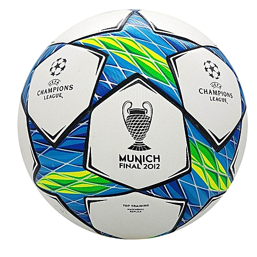 56b7734124500 2011-2012 profession Champions League Official size 5 Football ball  Material PU Professional Match Training