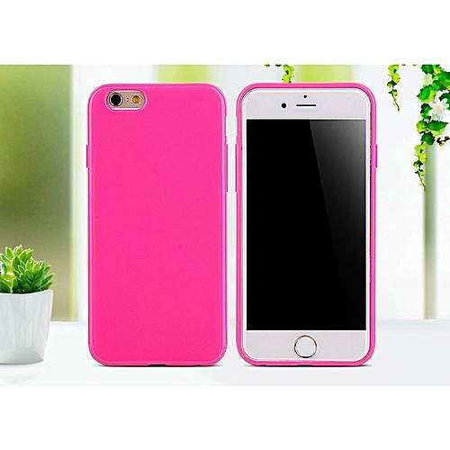 lowest price 35b4a 31ea2 for iphone X 10 case SIXEVE Candy Colors Silicone Case Cell Phone Back  Cover-Rose red