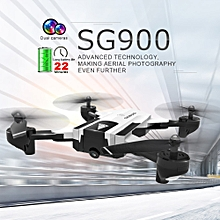 SG900 FPV RC Drone with 720P HD Camera 22mins Flight Time Optical Flow Positioning Follow Me Altitude Hold Foldable Quadcopter