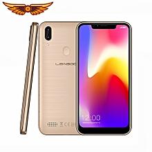 "LEAGOO M11 4G Face ID Smartphone 6.18"" U-shape Dual SIM Android 8.1 Quad Core 2GB+16GB 4000mAh Fingerprint Mobile Phone - Gold"