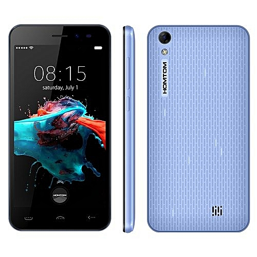HOMTOM HT16  1GB+8GB  5.0 inch Android 6.0 MTK6580 Quad Core up to 1.3GHz  Network: 3G(Blue)