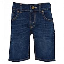 Blue  Denim Kids Shorts