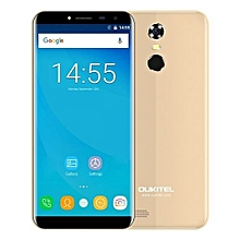 C8 4G Smartphone - Android 7.0 - 5.5 inch - MTK6737V/W Quad Core 1.3GHz - 2GB RAM - 16GB ROM - Touch Sensor - 13.0MP Rear Camera  - GOLD