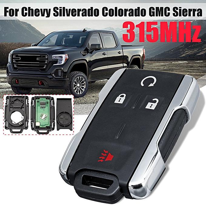 Replacement Remote Control Key Fob for 14-18 Chevy Silverado Colorado GMC  Sierra