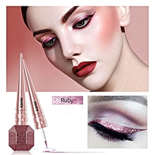 Waterproof Glitter Eyeliner- Ruby