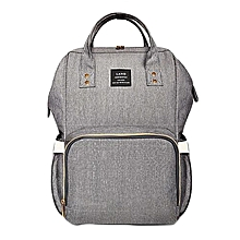 Portable Baby Diaper Bag for Travel - Grey