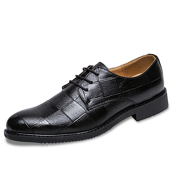 Business Formal Shoes Luxury Leather Pointed Office Wedding Dress
