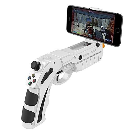 buy online 83b5d fea8a HonTai Bluetooth Shooting AR Game Magic Handle Controller Gamepad Joystick  for iPhone X 4-6'' Phone