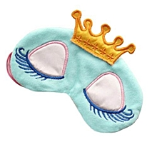 Hequeen Cartoon Eye Mask Shade Cover Rest Eyepatch Blindfold Shield Travel Sleeping Aid