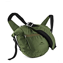 8L Unisex Outdoor Messenger Bag Multifunctional Waterproof Bag(Green)