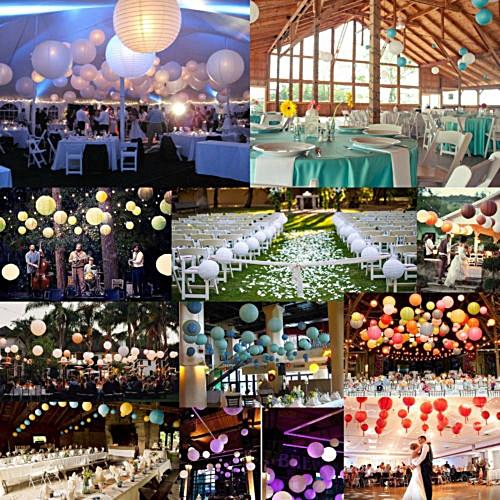 Buy Jetbeam 10 Inch Folding Storage Color Paper Lanterns Wedding Party Decor Led Lights Best