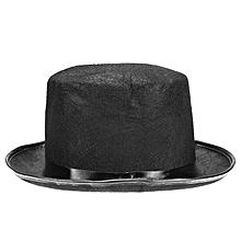 Halloween Wizard Vampire Adult Kids Magic Black High Hat -